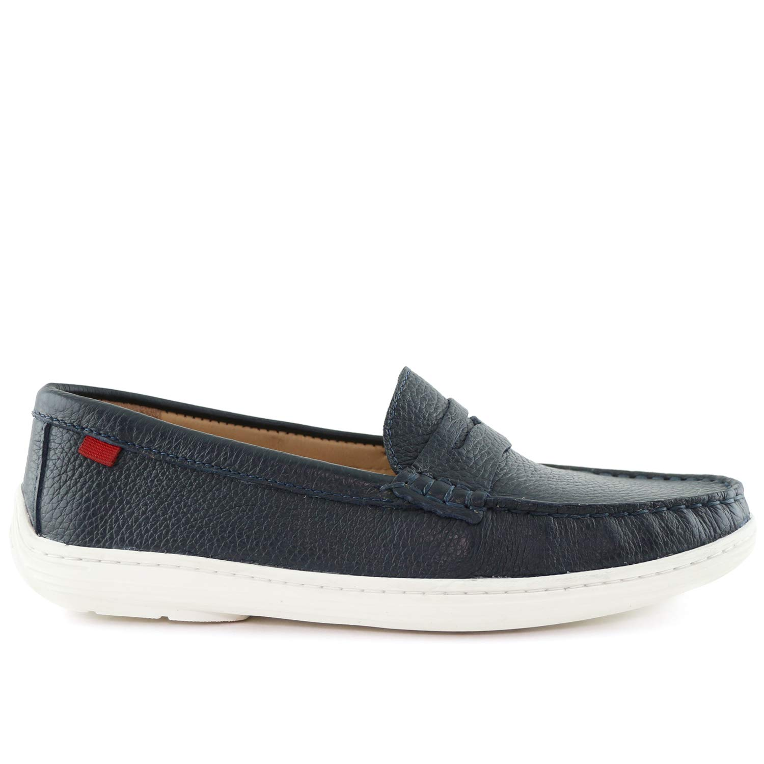 MARC JOSEPH NEW YORK Kids Boys/Girls Casual Comfort Slip On Penny Loafer Navy Grainy 5.5 by MARC JOSEPH NEW YORK (Image #5)
