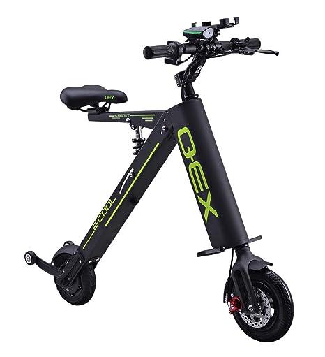 Xiaomu Bicicleta eléctrica Plegable Ligera y de Aluminio, Power ...