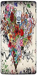 Snoogg Tatoo 2706 Designer Protective Back Case Cover For One Plus Two