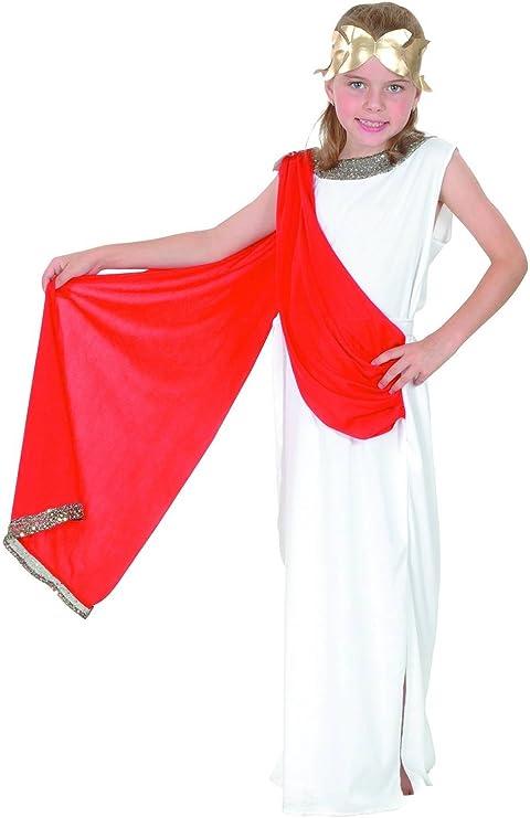 Disfraz de diosa romana niña: Amazon.es: Juguetes y juegos