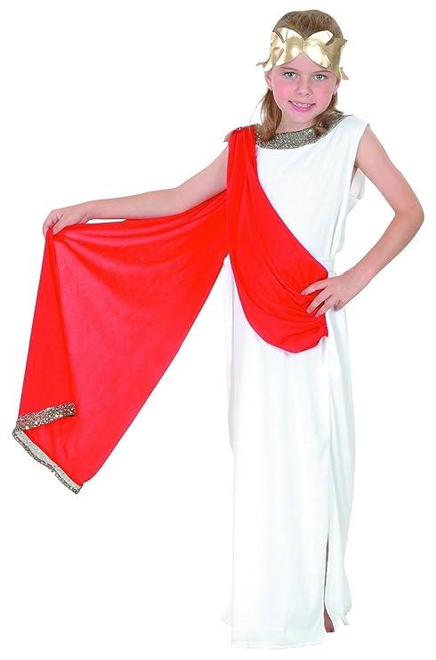 Generique Costume Dea Romana Bambina 1012 Anni 140152 Amazonit