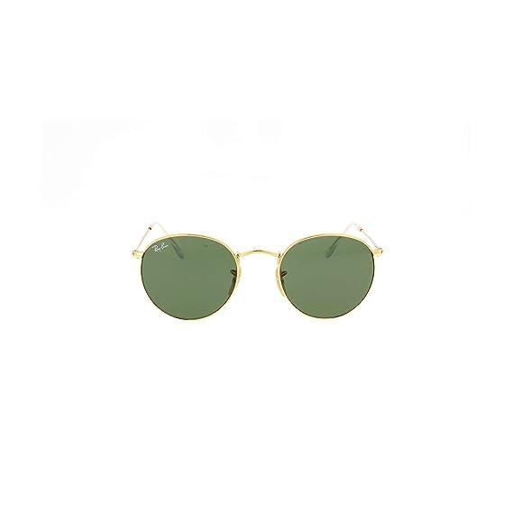 Ray-Ban Hombre Gafas de sol metálicas, Oro, One Size: Amazon ...