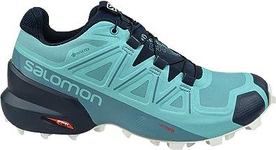 Salomon W Speedcross 5 GTX Damen laufschuhe; 407946_40 23; Blau; 40 23 EU (7.0 UK)