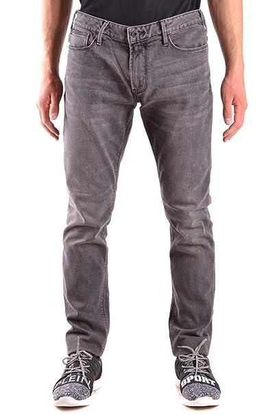 Armani Jeans Hombre 6Y6j066debz0904 Gris Algodon Jeans ...