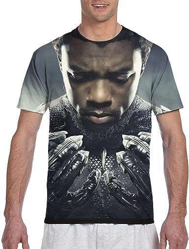 Wakanda Forever Camiseta de manga corta para hombre, de manga corta, para hombre