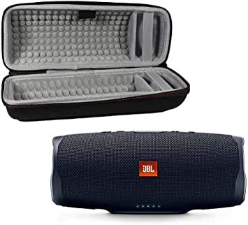 Amazon Com Jbl Charge 4 Waterproof Wireless Bluetooth Speaker Bundle With Portable Hard Case Black Home Audio Theater