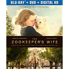 The Zookeeperss Wife debuts on Digital HD June 20 and Blu-ray, DVD, VOD July 4 from Universal Pictures