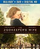 The Zookeepers Wife (Blu-ray + DVD + Digital HD)