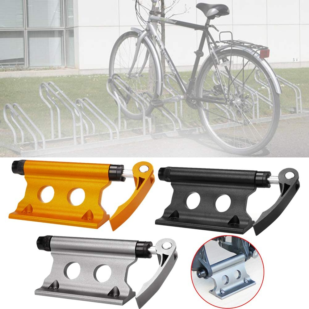Bike Front Fork Rack,Quick Release Fork Mount Bike Block Aluminum Alloy Waterproof Stable Fork Mount Bike Block