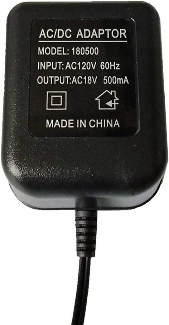 Luntus Transformateur AC 18 V 5 M/èTres Cable Wifi Sonnette Adaptateur Secteur pour Interphone Vid/éO IP Sonnerie Sans Fil Sonnette 110V-240V Entr/éE UE Plug