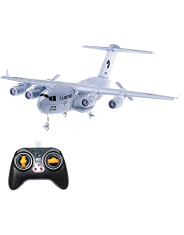 Crazepony RC Airplane C-17 Transport EPP DIY Aircraft 2 Channels 2.4Ghz Remote Control