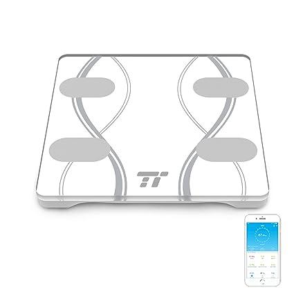 Báscula Baño TaoTronics, (2 Unidades), Báscula de Baño Digital Bluetooth 4.0 con