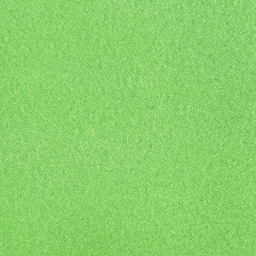 TooMeeCrafts 11-Inch by 8-Inch Glitter Cardstock Bright Green Color,Pack of 10