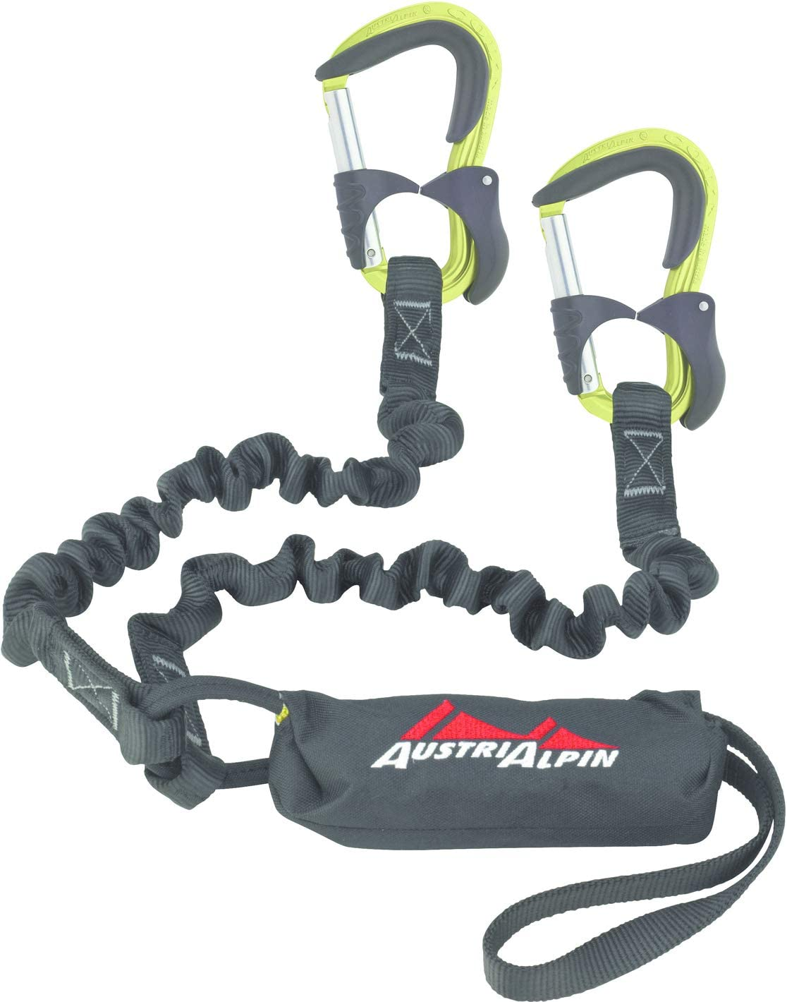 AustriAlpin Colt EVO - Kit vía ferrata - Negro 2019: Amazon.es ...