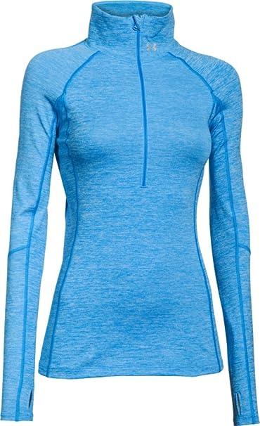 Under Armour Damen Langarmshirt Fitness Sweatshirt Ua ColdGear Armour 1//2 Zip