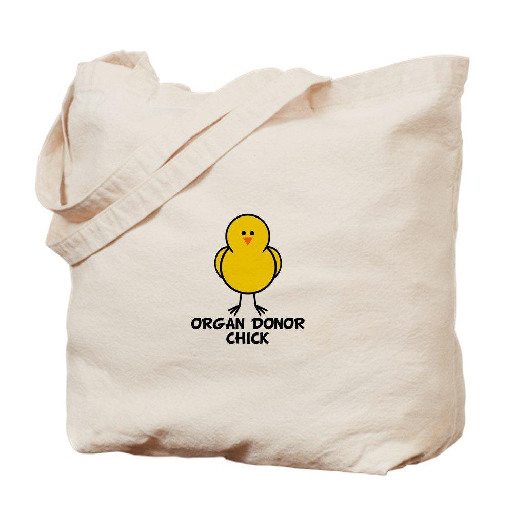 CafePress – Organ Donor Chick – ナチュラルキャンバストートバッグ、布ショッピングバッグ B01JNBLQH2