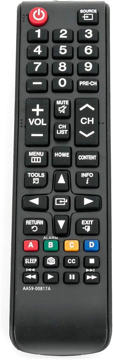 New AA59-00817A Remote for Samsung LED LCD HDTV TV HG55NE478 HG65NE478