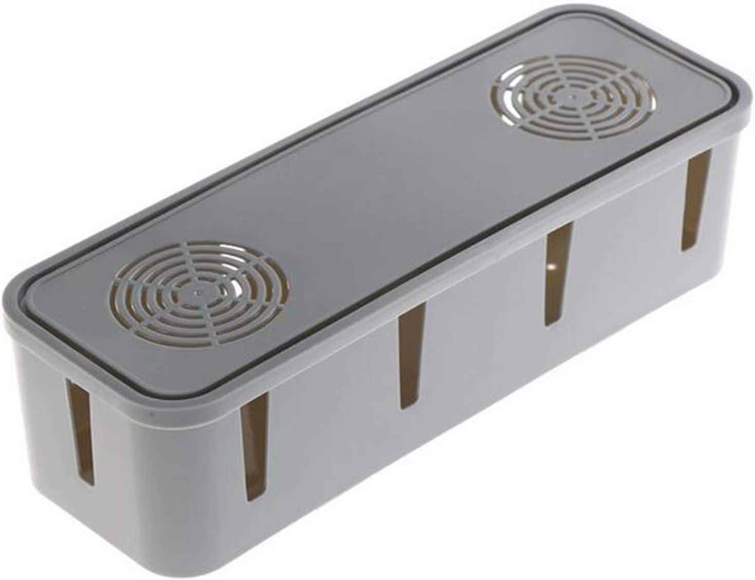 Cajas de Salida eléctrica para la gestión de Cables, para la Toma de Corriente, multicargador, para organizar Cables: Amazon.es: Electrónica