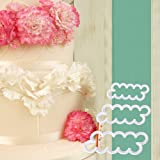 3 pcs The Easiest Carnation Ever Cutter Flower Cake Cookie Sugarcraft Fondant Decorating Plunger Cutters Mold