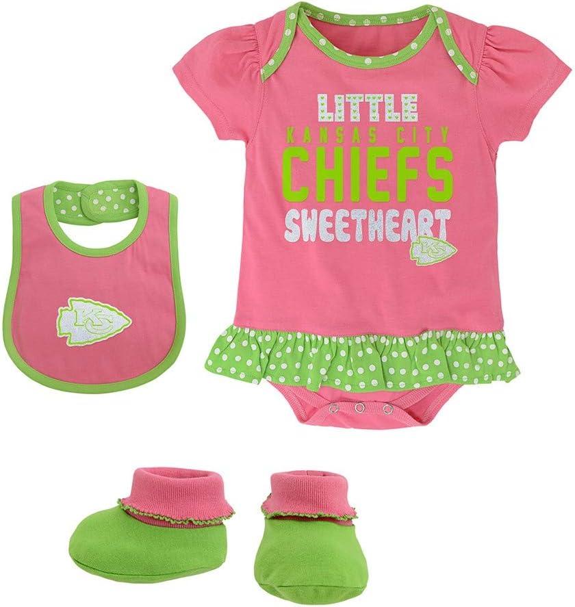 Outerstuff Kansas City Chiefs Team Color Baby Creeper