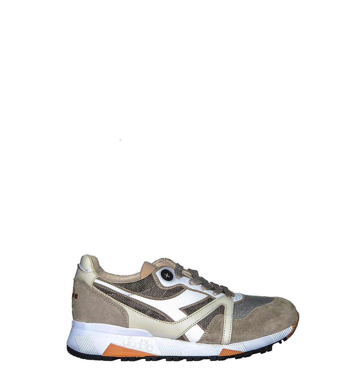 Diadora Zapatillas de Material Sintético Para Hombre Multicolor Gris 43.5 EU