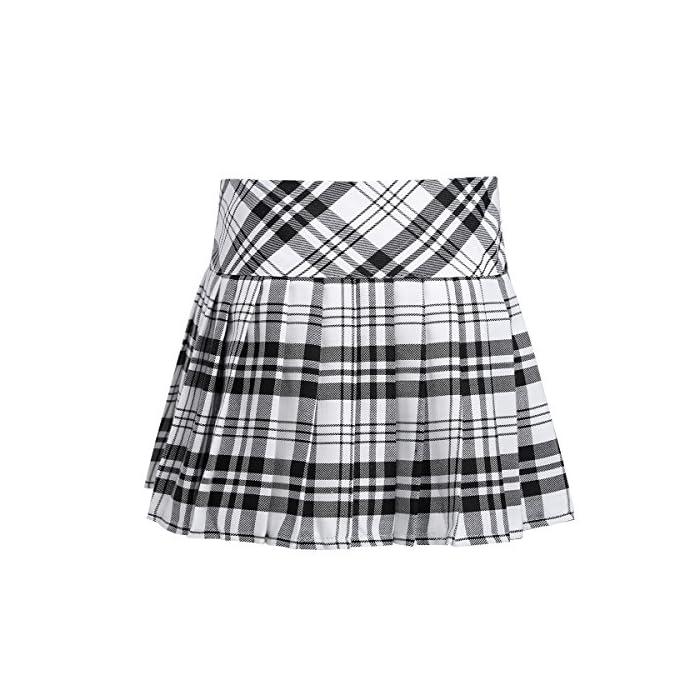 La falda está hecha de poliéster y material de algodón, lavado a mano. Tabla de tallas significa rangos de edad para niñas, pero solo son orientativos. Poliéster algodón