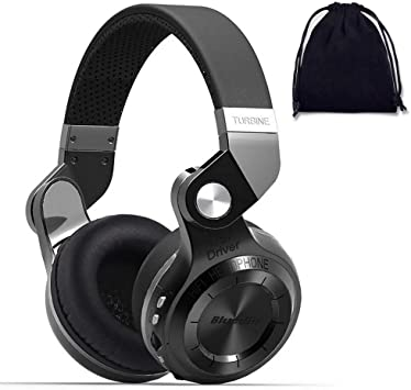 Amazon Com Bluedio Wireless Stereo Extra Bass Bluetooth Headphones On Ear With Mic 57mm Driver Folding Wireless Headset Wired Headphones Micro Sd Card Slot Support Amazon Web Services T2 Plus Superior Home Audio