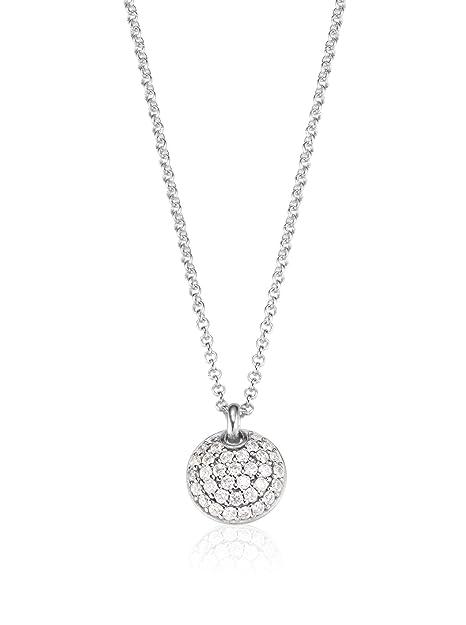 ESPRIT Jewels Damen-Halskette 925 Sterling Silber Nugget glam app.42+3cm  ESNL92646A420  Amazon.de  Schmuck c445d4c04d