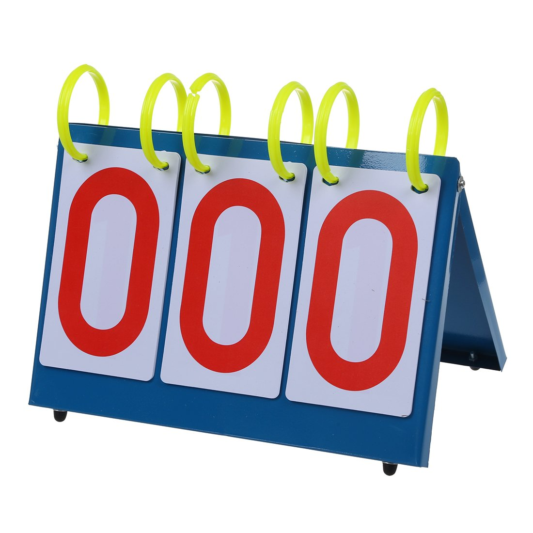 WOVELOT Multi-Purpose Sports Three Digit Flip Scoreboard for Knowledge Contest.
