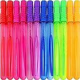 Pinwheel 12 Pack 14 1/2'' Big Bubble Wand Set For Kids Birthday Party Favor Summer Toys Assortment (1 Dozen)