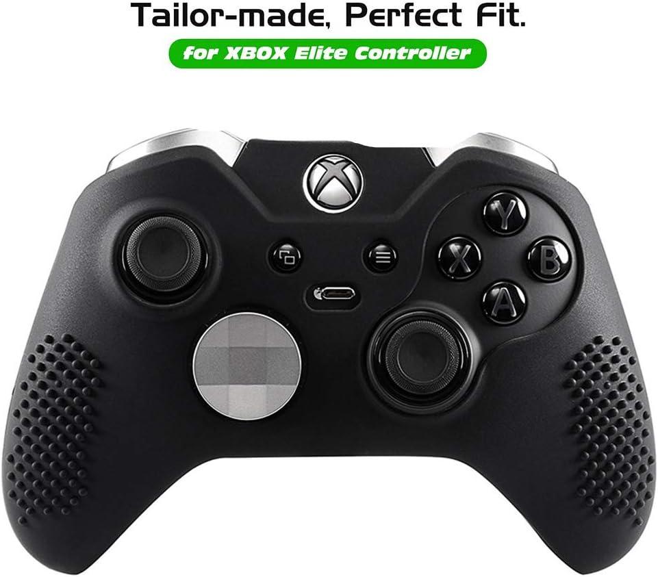 Obeka - Carcasa de Silicona Antideslizante para Mando de Xbox One Elite, 2 Pares de Tapones para Pulgar incluidos: Amazon.es: Electrónica