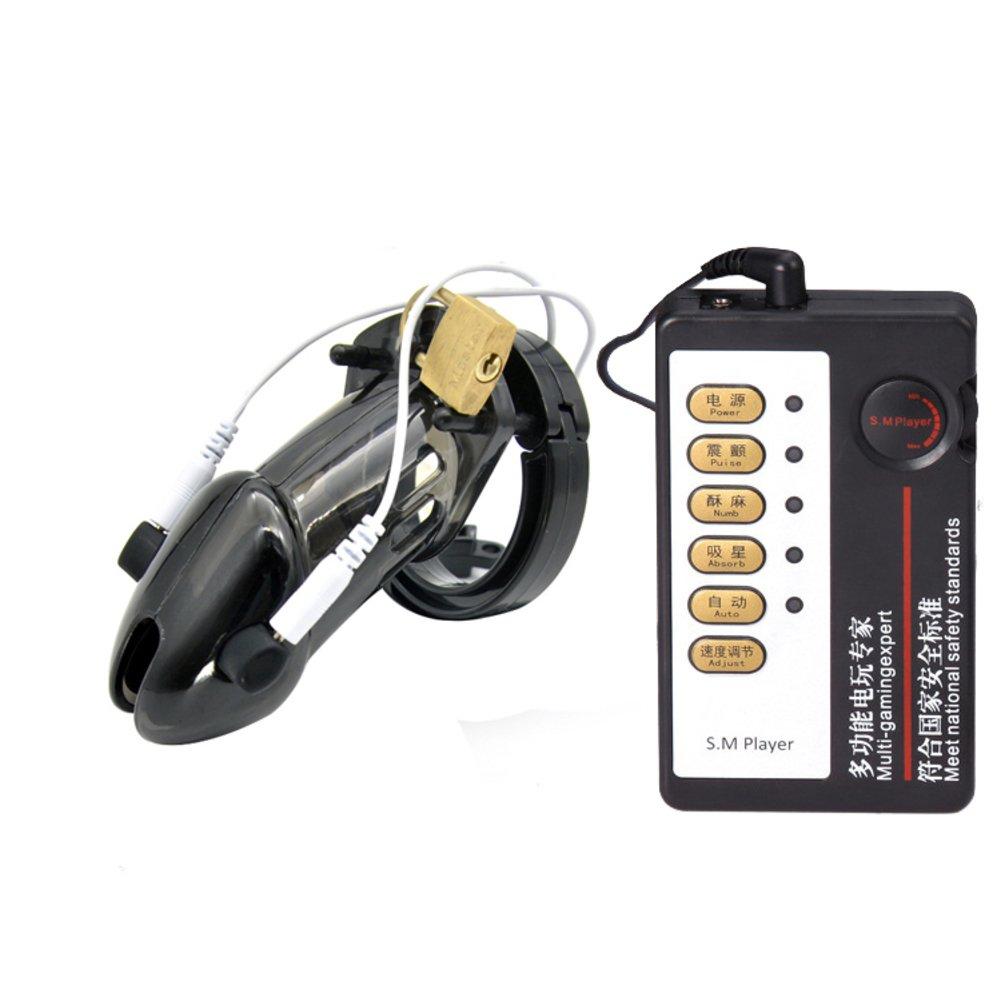 Juguetes de sm alternativa alternativa La electroestimulación Bloqueo de castidad Descarga eléctrica alternativa sm Gusto de sm Bondage -B 893ae5