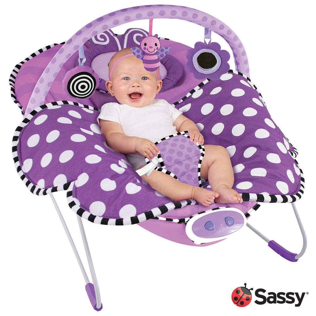 Baby girl vibrating chair - Oversized Cradling Seat With Newborn Headrest