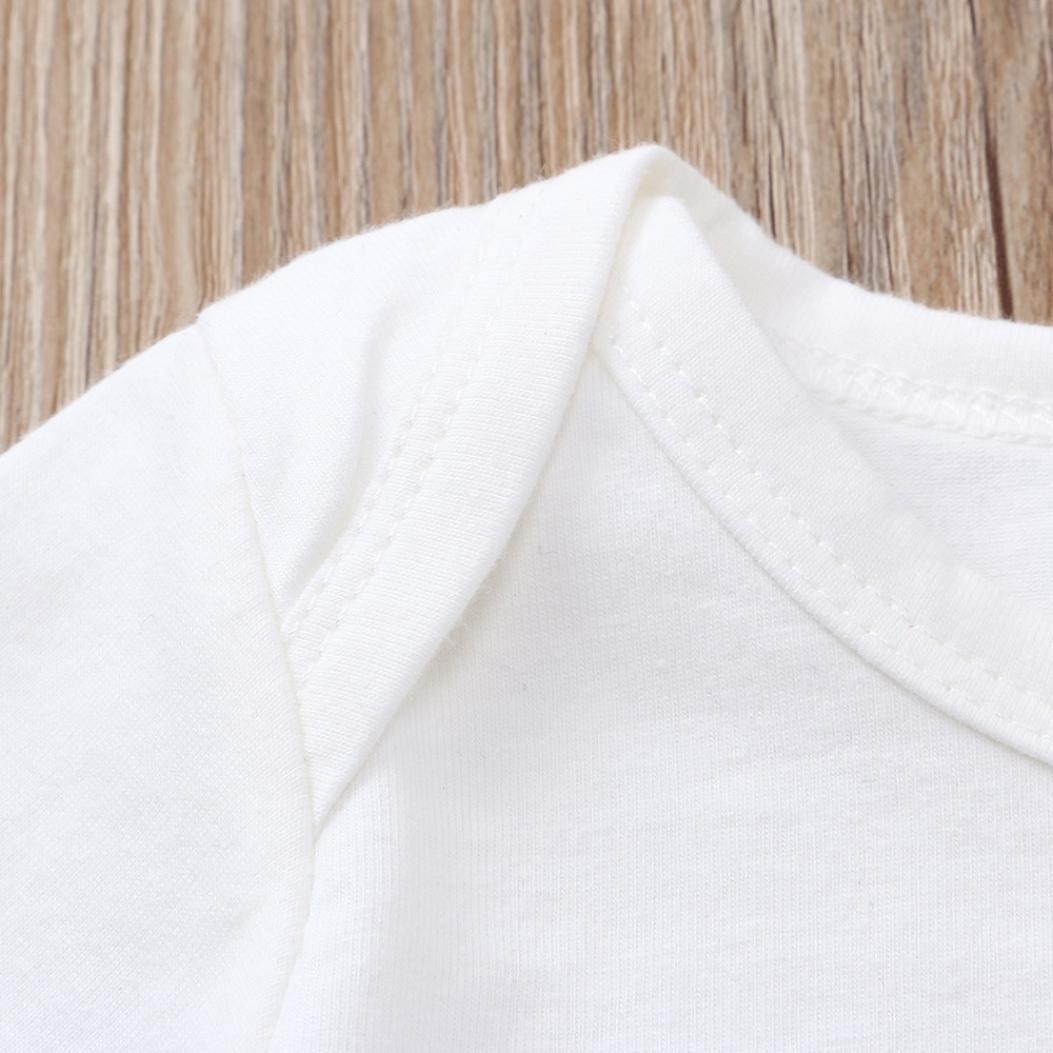 Hirolan S/äugling Baby Spielanzug Schlafanz/üge Babykleidung Jungen Schlupfhose Kleidung Brief Romper Shorts Outfits Babyw/äsche Kinderklamotten Neugeborene Kleidung