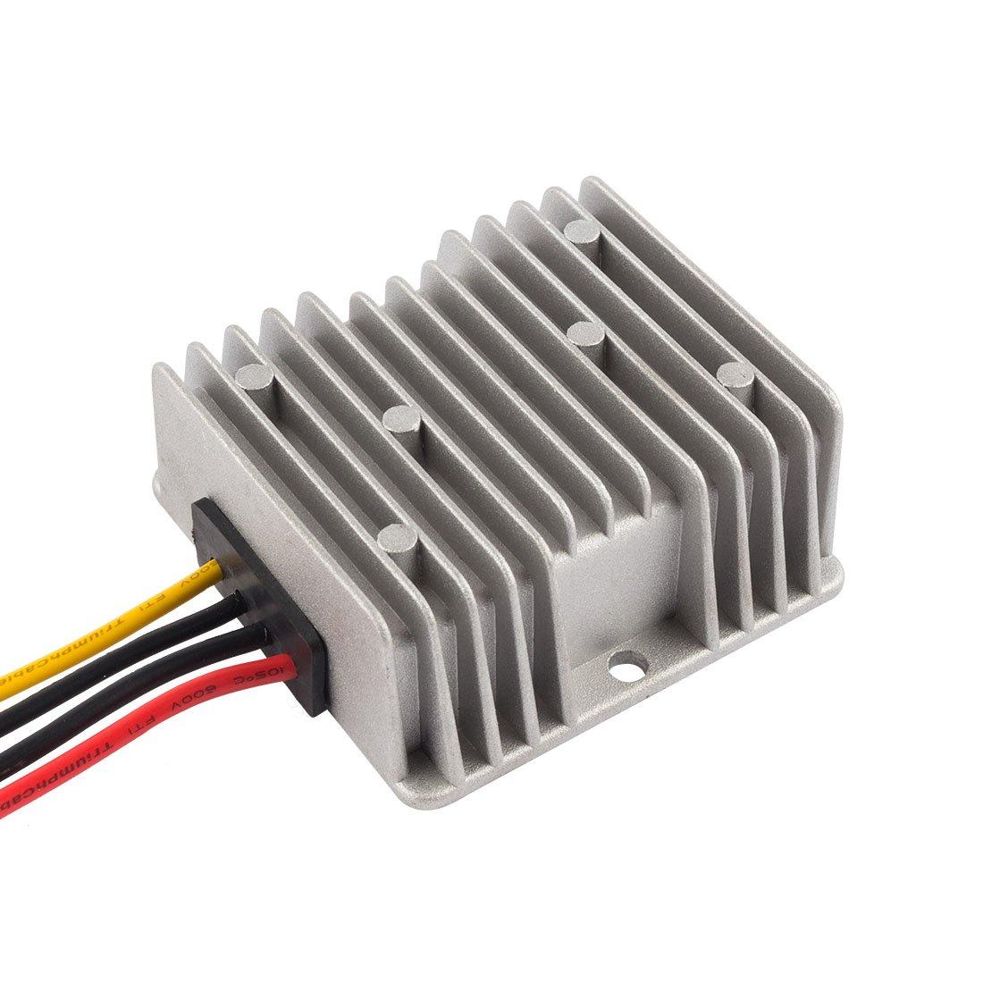 Step-Up to DC19V 6A 114W Waterproof Voltage Convert Transformer 10V~16V uxcell Power Converter Regulator DC12V