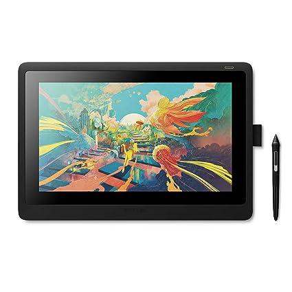 amazon com wacom cintiq 16 drawing tablet with screen dtk1660k0a rh amazon com