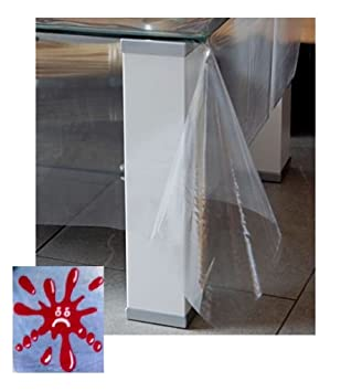Schnutzdecke Eckig 90x90 Cm Transparent Wasserdicht Abwaschbar