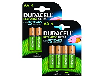 Duracell BUN0052A household battery Rechargeable battery Níquel-metal hidruro (NiMH) - Pilas (Rechargeable battery, Níquel-metal hidruro (NiMH), 1,2 ...