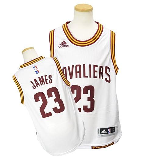 half off 91fa7 90183 Amazon.com : adidas Lebron James Cleveland Cavaliers #23 NBA ...