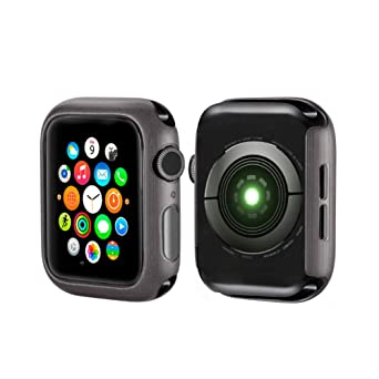 2 Protectores de Pantalla para Apple Watch Series 1/2/3, PC ...