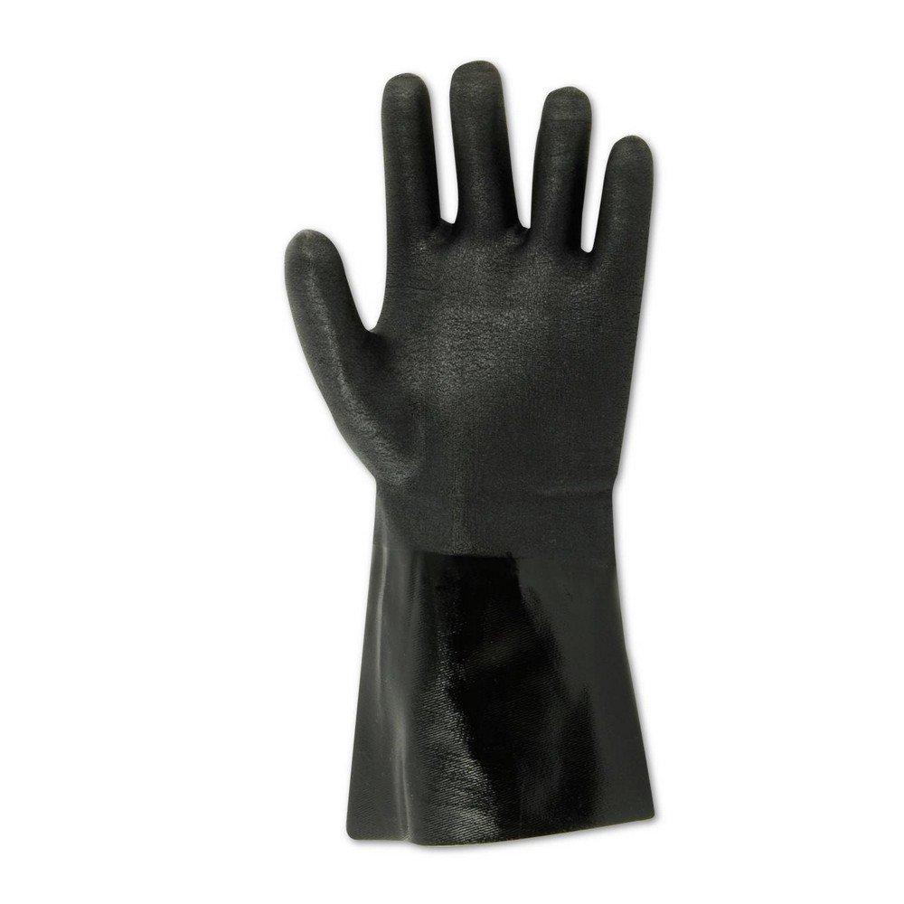 Magid Glove & Safety 2384R SHOWA Finish Neoprene Gloves, Large, Black , Large (Pack of 12)