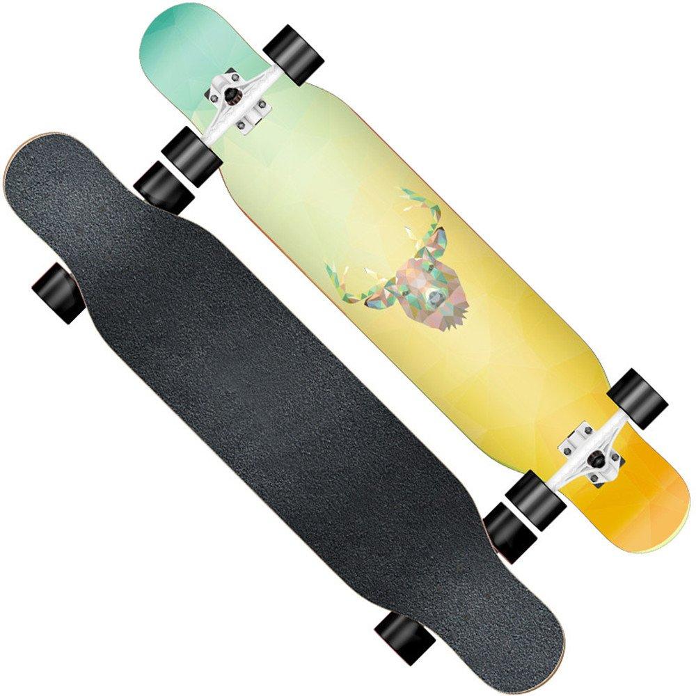 F.shion ロングスケートボード クルージング E コンプリート コンプリート B078W9W8GM スケートボード スケボー B078W9W8GM E E, アネット汐留:6a8d3260 --- integralved.hu