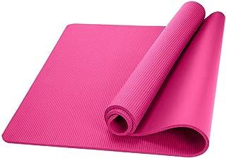 zhang-hongjun,Santé et Remise en Forme, épais Tapis de Yoga en Mousse de 1 cm de Long Confort(Color:Rouge)