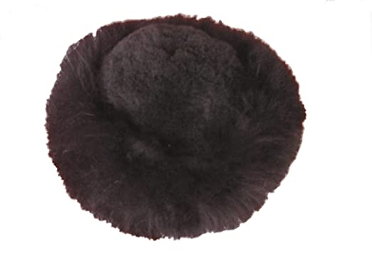 Alpakaandmore Womens Black Baby Alpaca Fur Mongolian Hat Satin Lined  Russian Hat (Small (21 6c97880b896