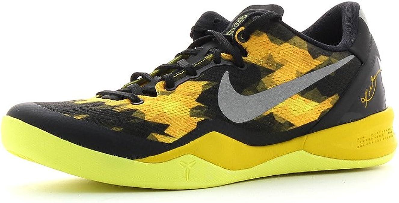 Irradiar Persona australiana Recreación  Nike Kobe 8 System GC Sport Grey Volt (555286-001): Amazon.co.uk: Shoes &  Bags