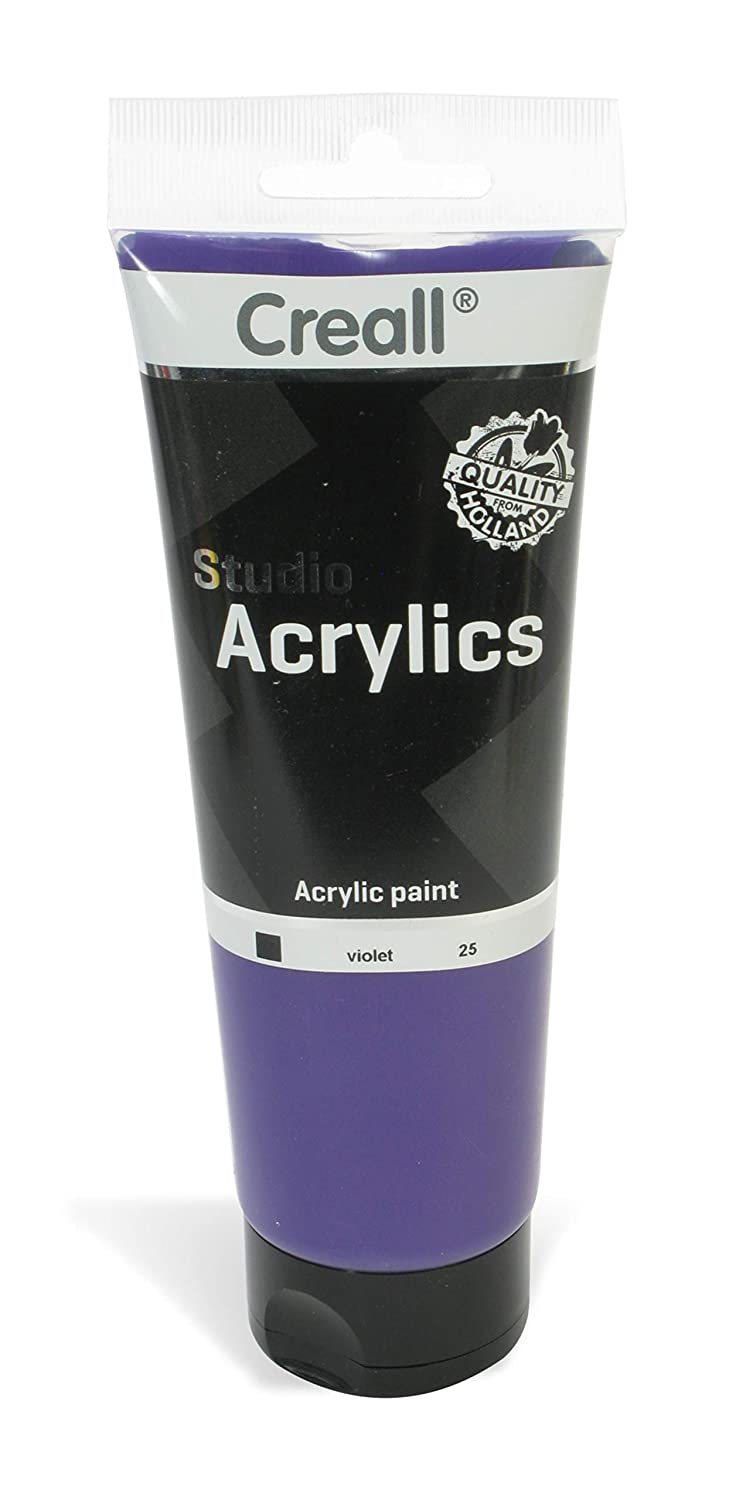 American Educational Products A-33625 Creall-Studio-Acrylics Tube 250Ml 25 Violet   B00UVAUZGS
