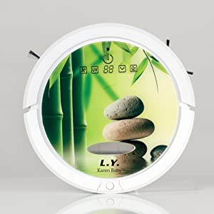 Multi-functions Robot Vacuum Cleaner, Self-charge/Sweep Suction/LED Touch Screen/Variety Cleaning Mod