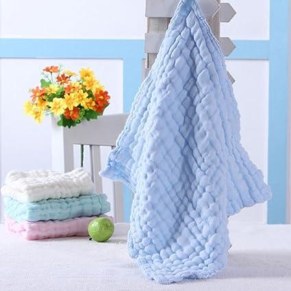 Bebé Toallitas para piel sensible toallitas algodón Toallas gasa cuadrada
