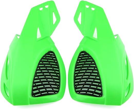 New GREEN Universal ATV Handguards Brush Hand Guards
