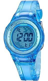 Calypso Watches Reloj Digital para Mujer de Cuarzo con Correa en Caucho K5688_1